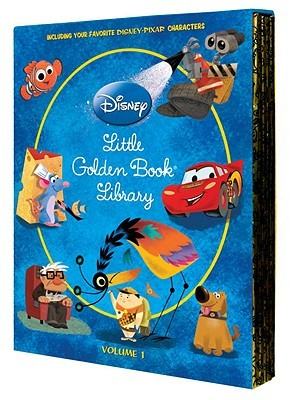 Little Golden Book Library: Volume 1 (Disney/Pixar)
