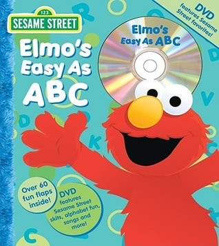 Sesame Street Elmo's Easy as ABC Book and DVD by Carol Monica