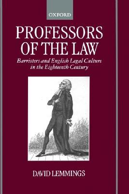 Professors of the Law by David Lemmings
