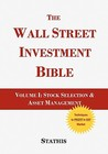 The Wall Street Investment Bible Volume 1 by Mike Stathis