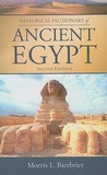 Historical Dictionary of Ancient Egypt