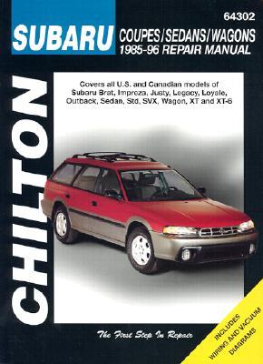 Subaru Coupes, Sedans, and Wagons, 1985-96