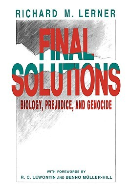 Final Solutions by Richard M. Lerner