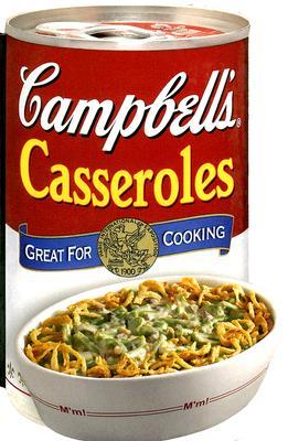 Campbell's Casseroles (Shaped Cookbook)