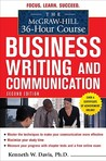 The McGraw-Hill 36-Hour Course Business Writing and Communication
