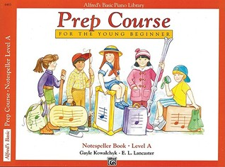 Alfred's Basic Piano Prep Course Notespeller, Bk a: For the Young Beginner