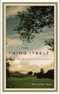 The Thing Itself by Richard Todd