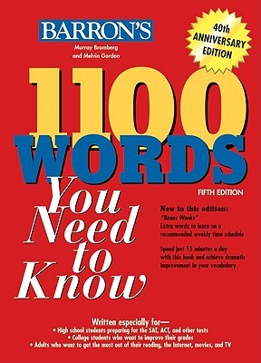 1100 Words You Need to Know by Murray Bromberg