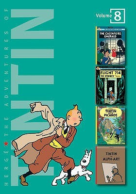 The Adventures of Tintin, Vol. 8 by Hergé