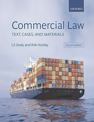 Commercial Law: Text, Cases, and Materials