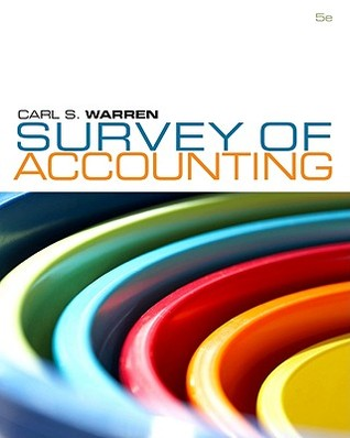 Survey of Accounting, 5th Edition