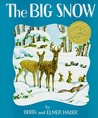 The Big Snow by Berta Hader