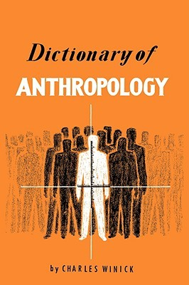 Dictionary of Anthropology