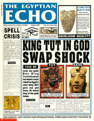 The Egyptian Echo by Paul Dowswell