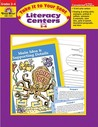 Literacy Centers: Grade 3-4 (Take It to Your Seat)