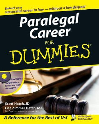 Paralegal Career for Dummies [With CD-ROM]