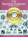 1500 Decorative Ornaments CD-ROM and Book