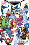 A-Babies Vs X-Babies #1 by Skottie Young