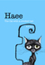 Haee The cat with a crooked...