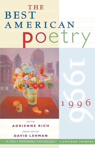 The Best American Poetry 1996 by Adrienne Rich