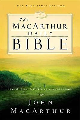 The MacArthur Daily Bible by Anonymous