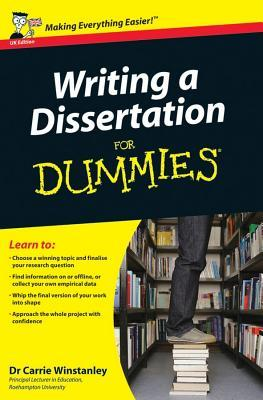 How to write a dissertation for dummies