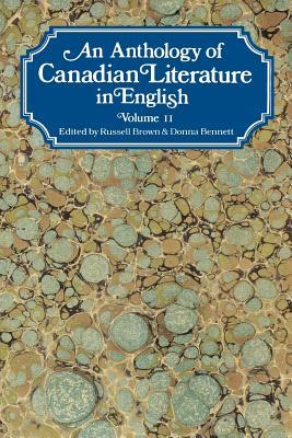 An Anthology of Canadian Literature in English by Donna Bennett