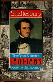 Shaftesbury: A Biography Of The Seventh Earl, 1801 1885