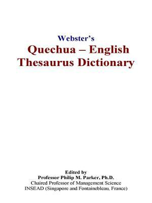 Webster's Quechua   English Thesaurus Dictionary