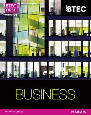 Btec Firsts in Business. Student Book