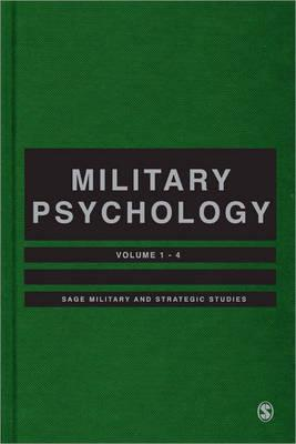military psychology Becoming a military psychologist efforts by the military to serve its deserving members with body and mind health services has resulted in a serious shortage of psychologists in active duty in 2007, the last year of available statistics, the american psychological association reported a 40% vacancy rate across all branches.