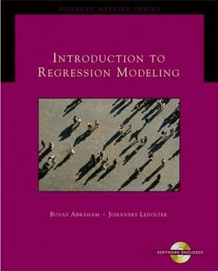 Introduction to Regression Modeling [With CDROM]