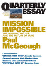 Mission Impossible: The Sheikhs, The U.S. and The Future Of Iraq (Quarterly Essay #14)