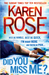 Did You Miss Me? (Romantic Suspense, #14; Baltimore, #3)