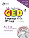 GED Language Arts, Writing w/ CD-ROM (REA) - The Best Test Prep for the GED