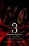 3 on a bed