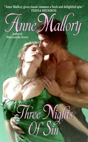 Three Nights of Sin by Anne Mallory