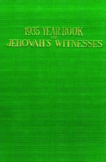 1935 Yearbook of Jehovah's Witnesses