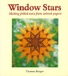 Window Stars, Making Folded Stars from Colored Papers