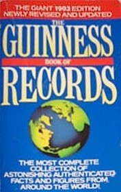 Guinness book of world records biggest
