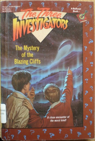 The Mystery of the Blazing Cliffs by M.V. Carey