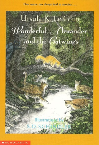 Wonderful Alexander and the Catwings by Ursula K. Le Guin
