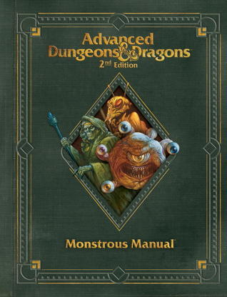 Premium 2nd Edition Advanced Dungeons & Dragons Monstrous Manual