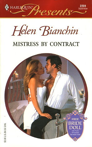 Mistress by Contract by Helen Bianchin