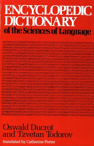 Encyclopedic Dictionary of the Sciences of Language by Oswald Ducrot