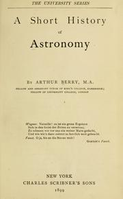 A Short History of Astronomy: From Earliest Times Through the Nineteenth Century