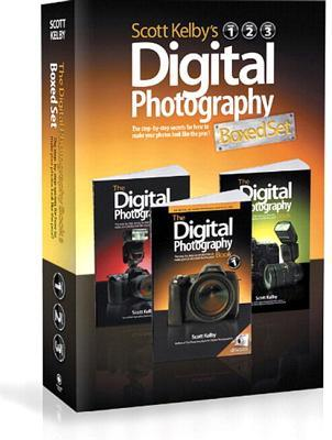 Scott Kelby's Digital Photography Boxed Set, Volumes 1, 2, and 3