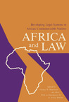 Africa and Law: Developing Legal Systems in African Commonwealth Nations