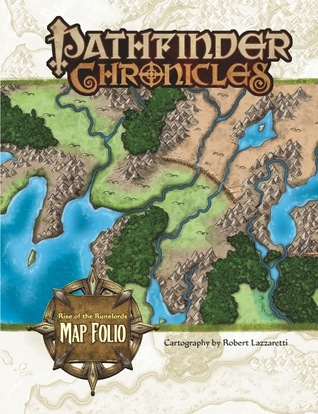 Pathfinder Chronicles: Rise of the Runelords Map Folio