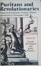 Puritans and Revolutionaries by Donald C. Pennington